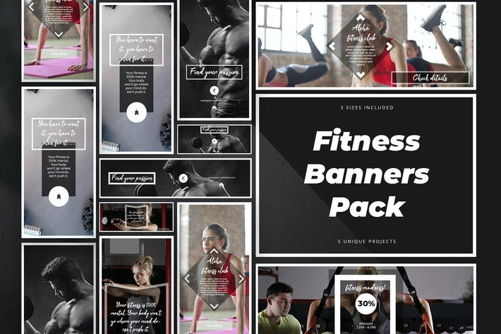 Thumbnail for Fitness Banner Pack