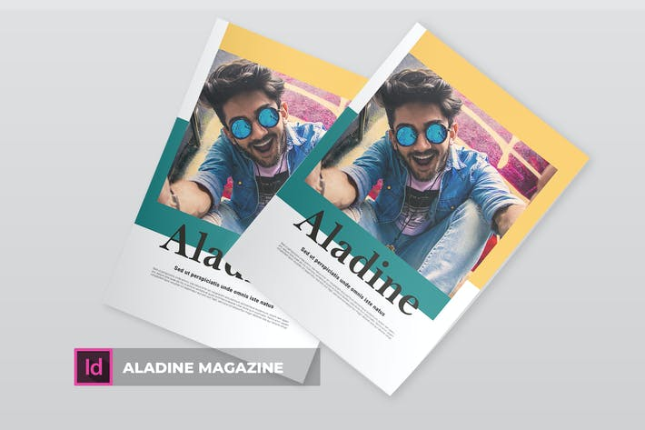 Thumbnail for Aladine | Magazine Template