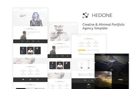 Hedone - Creative & Clean Portfolio / Agency Templ