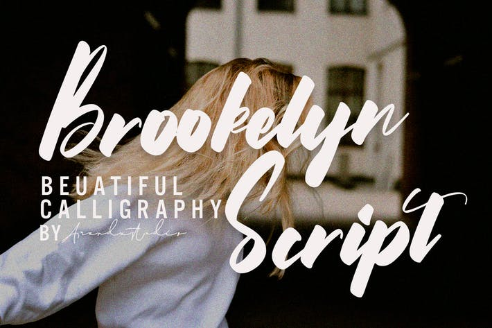 Thumbnail for Brookelyn - Script Font