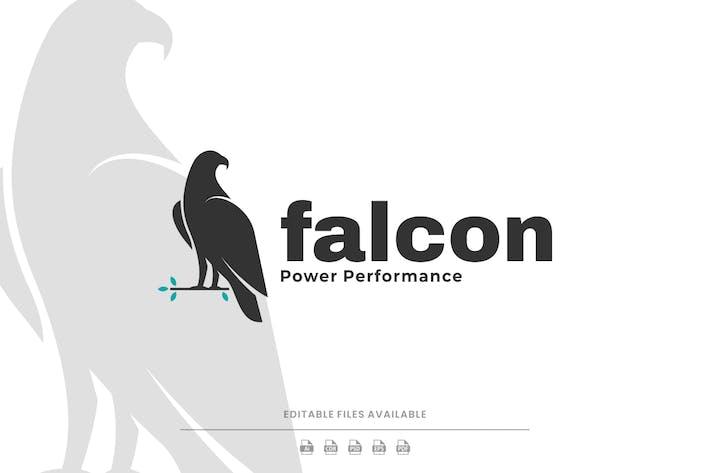 Falcon Silhouette Logo
