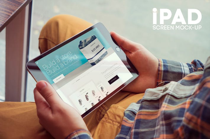 Thumbnail for iPad Screen Mockup