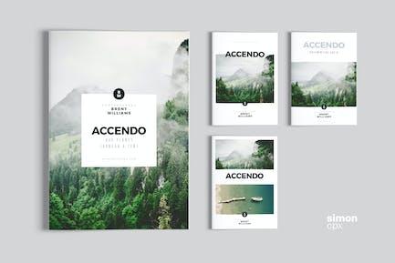 ACCENDO – Portfolio / Photobook / Brochure