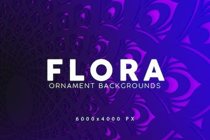 Flora Gradient Backgrounds