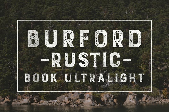 Thumbnail for Burford Rustic Book UltraLight Libro