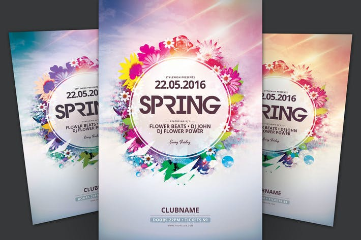 Cover Image For Spring Flyer