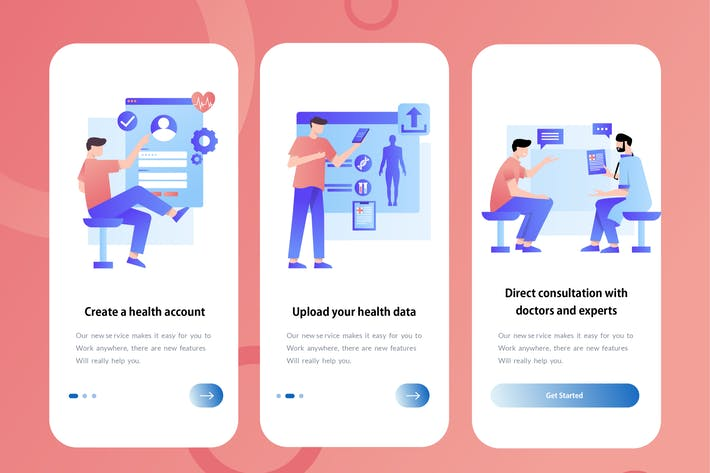 Thumbnail for Health - Onboarding Illustration