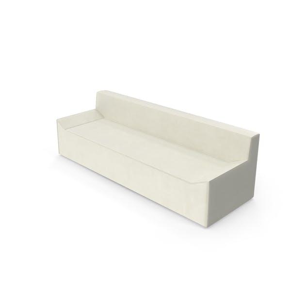 Thumbnail for Light Fabric Angular Sofa