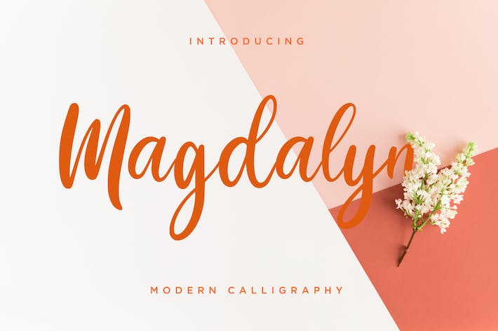 Thumbnail for Calligraphie moderne Magdalyn