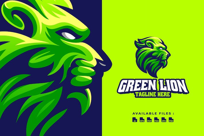 Green Lion Sport Logo