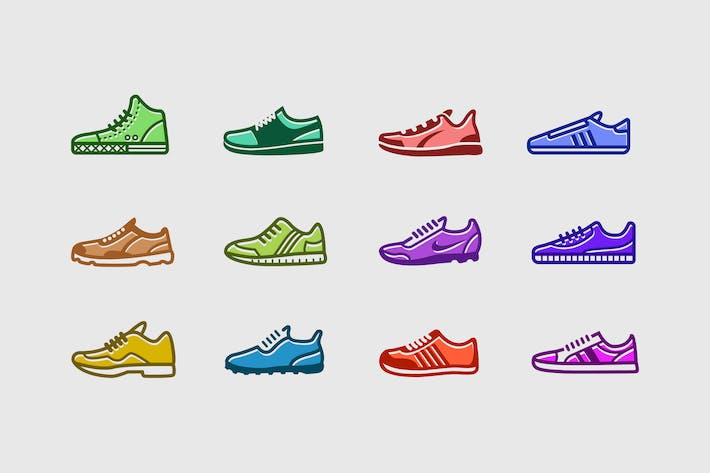 Thumbnail for 12 Sneaker Icons