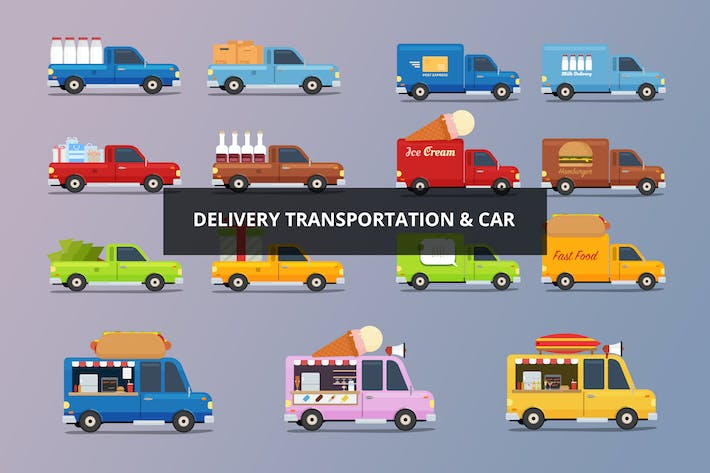 Thumbnail for Delivery Car & Transportation