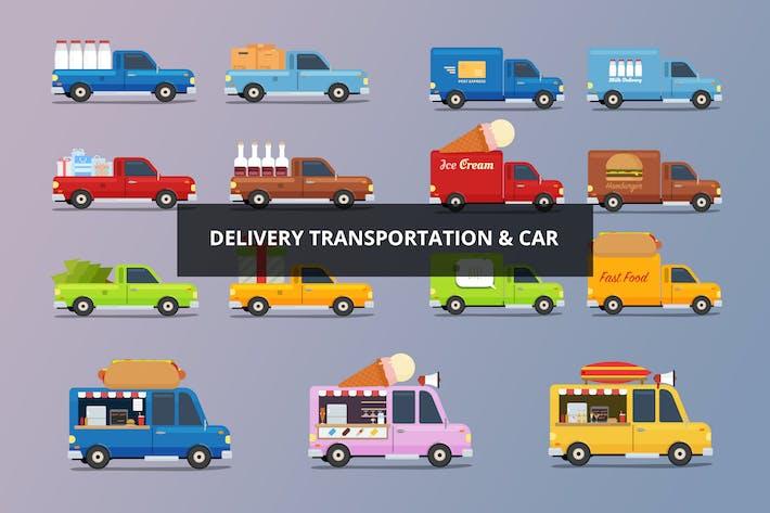 Thumbnail for Voiture de livraison et transport