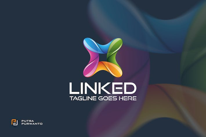 Thumbnail for Linked - Logo Template