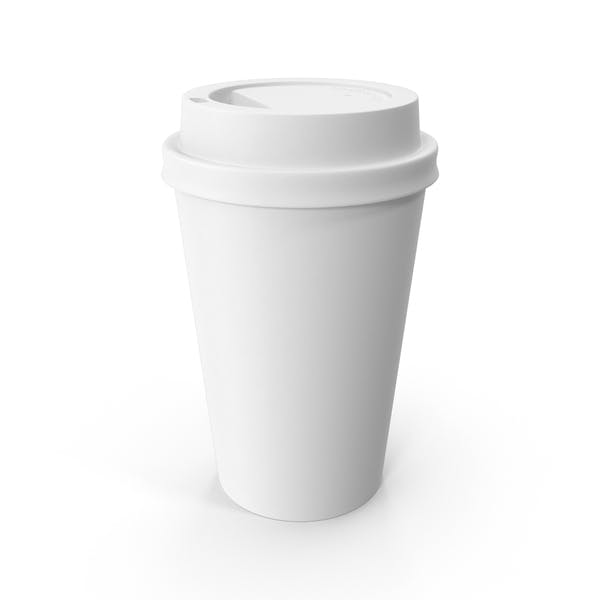Thumbnail for Paper Coffee Cup White