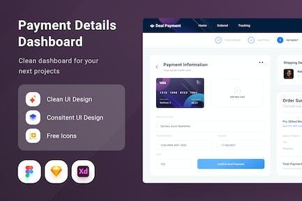 Paymentt Details Dashboard
