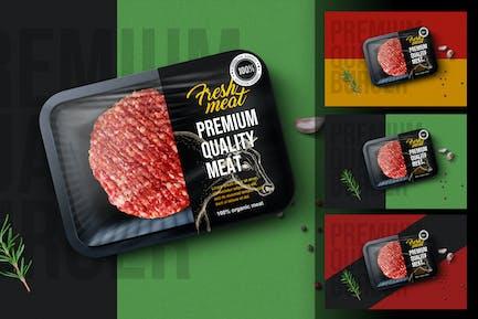 Hamburger Package Mockup