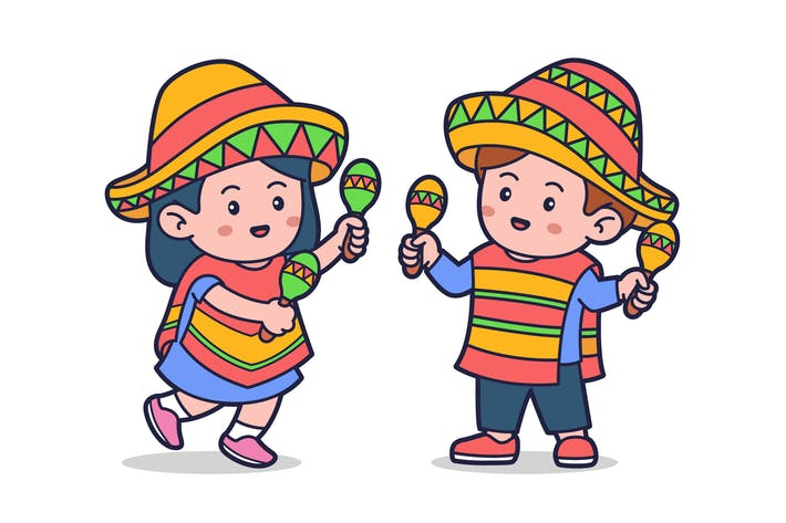 Kids Playing Maracas