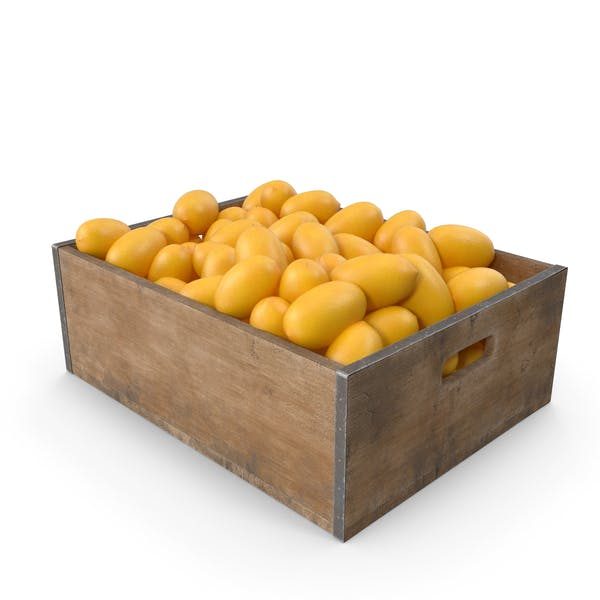 Zitronen-Obst-Kiste