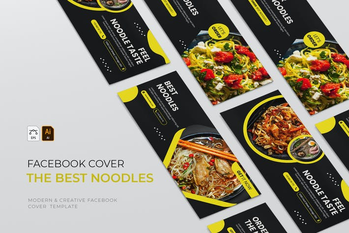 Thumbnail for Best Noodles | Facebook Cover