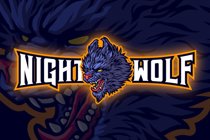 Thumbnail for Aggressive Wolf Esport Logo