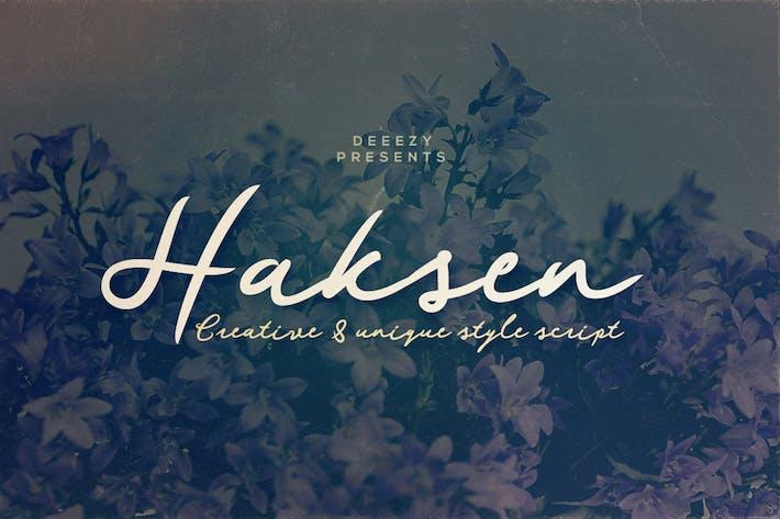 Thumbnail for Fuente de secuencia de comandos Haksen