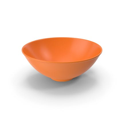Schüssel Orangefarbig