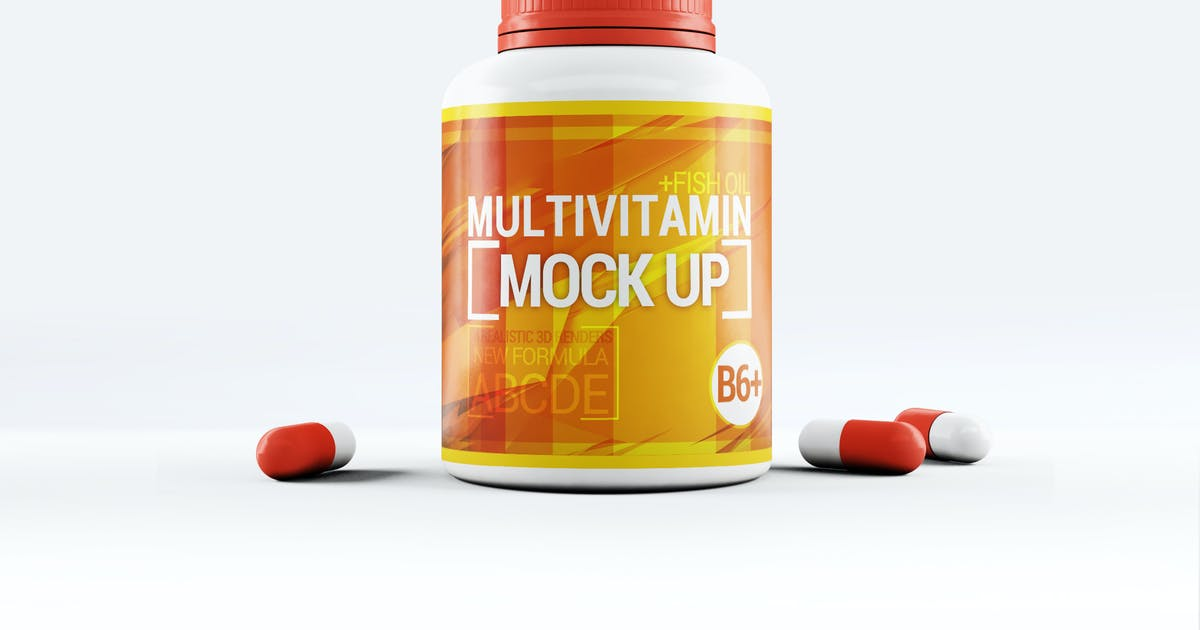 Download Pills Bootle Mock-Up by L5Design