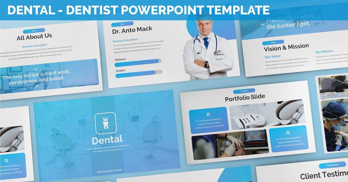 Download Dental - Dentist Powerpoint Template by SlideFactory