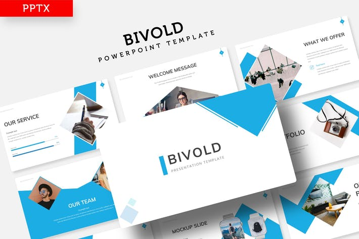 Thumbnail for Bivold - Power Point Template