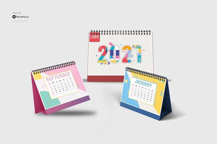 Thumbnail for Artender - Calendar Memphis style 2021 HR