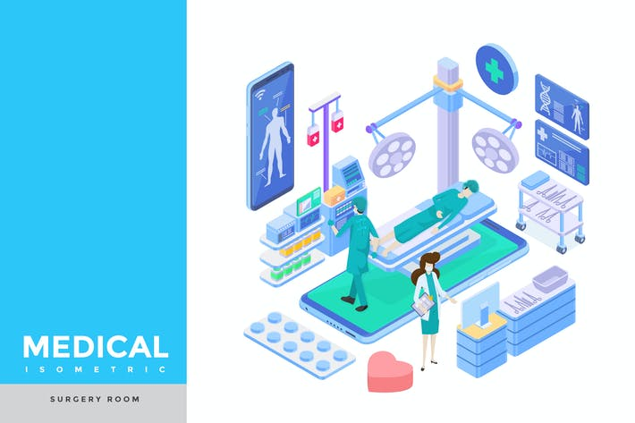 Thumbnail for Surgery Room Isometric