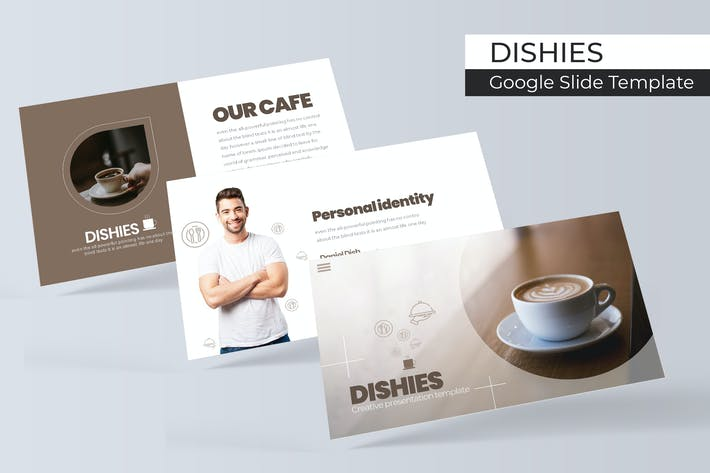 Thumbnail for Dishies - Plantilla de Presentación de Google