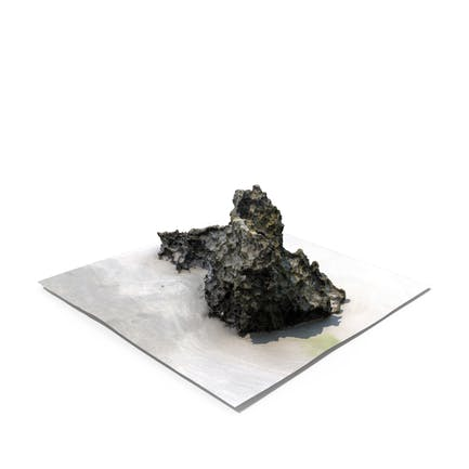 Detailed 3D Scan Of A Rock