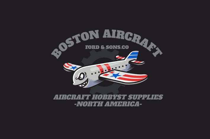 Thumbnail for aircraft - Mascot & Esport Logo