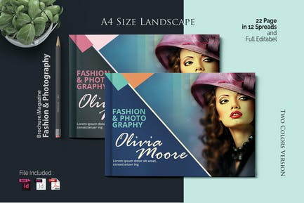 A4 Fashion Template