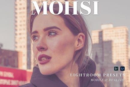 Mohsi Mobile and Desktop Lightroom Presets