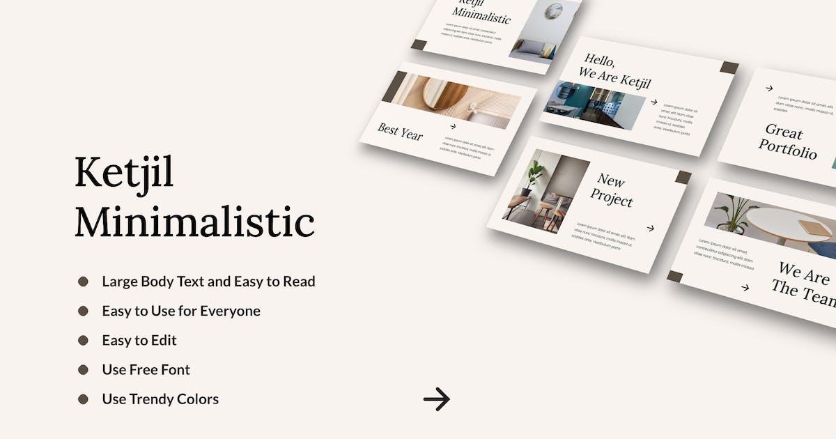 Download KETJIL - Minimalistic Presentation Template by inipagi