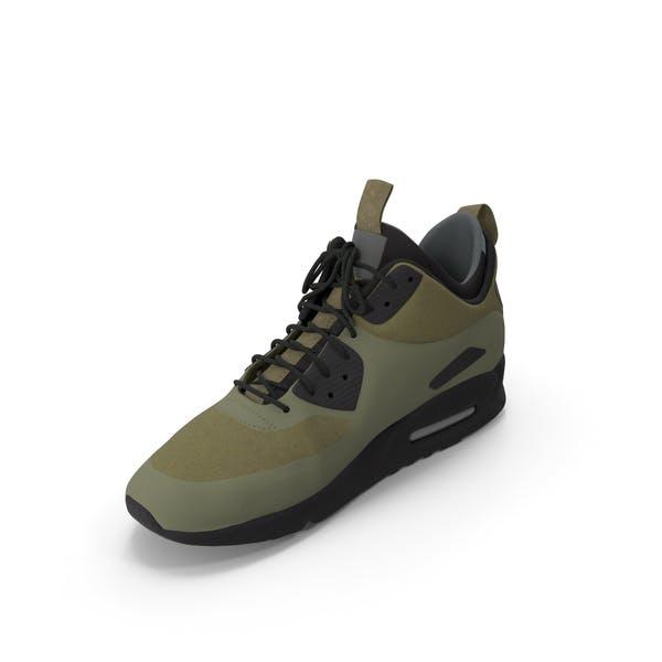 Мужские кроссовки Зеленый