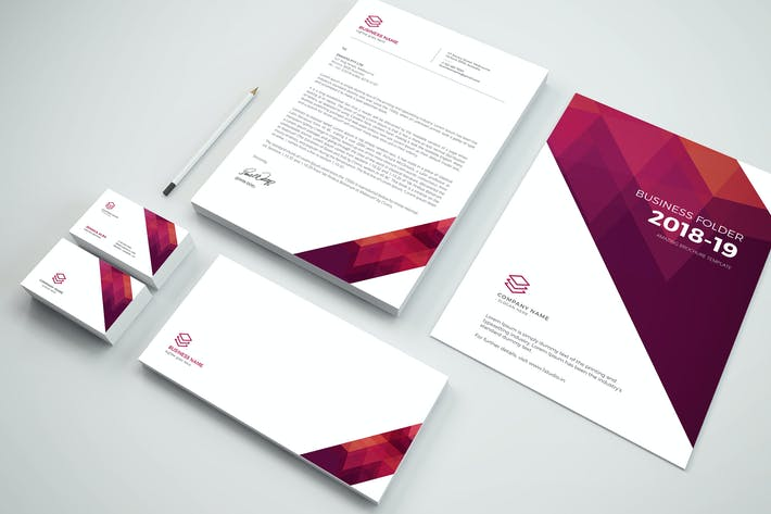 Thumbnail for Branding Stationery Pack