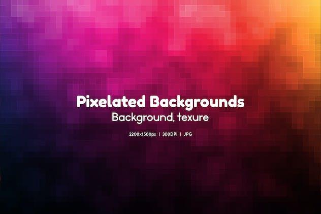 11 Pixelated Background