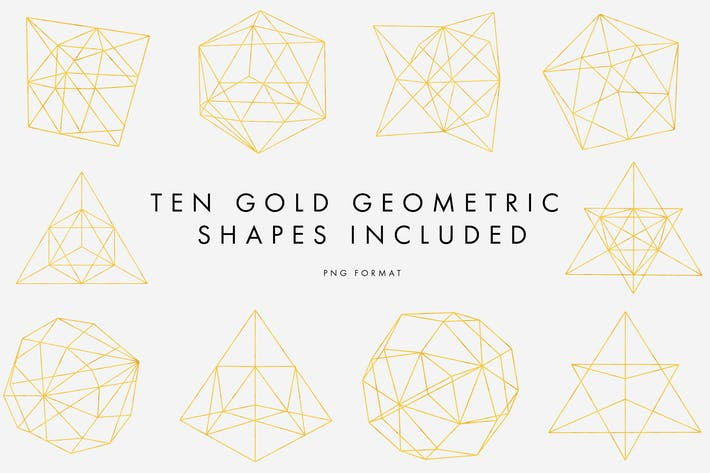 Thumbnail for Gold Geometric Patterns