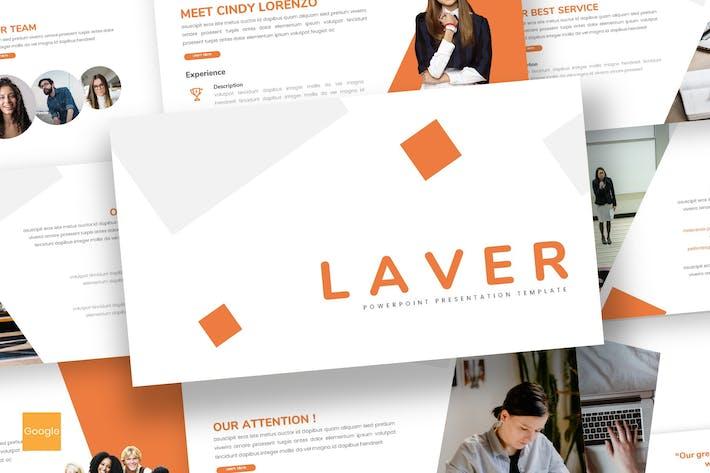 Thumbnail for Laver - Business Google Slides Template