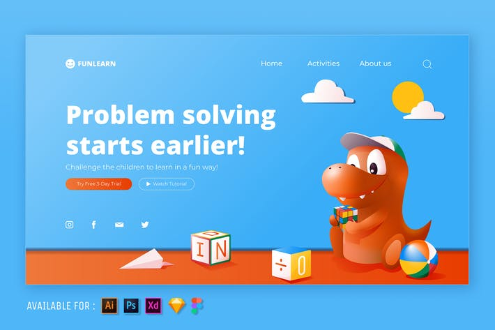 Thumbnail for Problem Solving  - Web Illustration