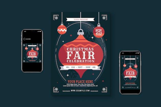 Christmas Fair Flyer Pack