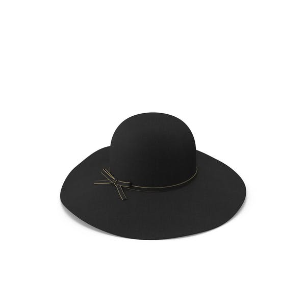 Cover Image for Vintage Wool Floppy Hat