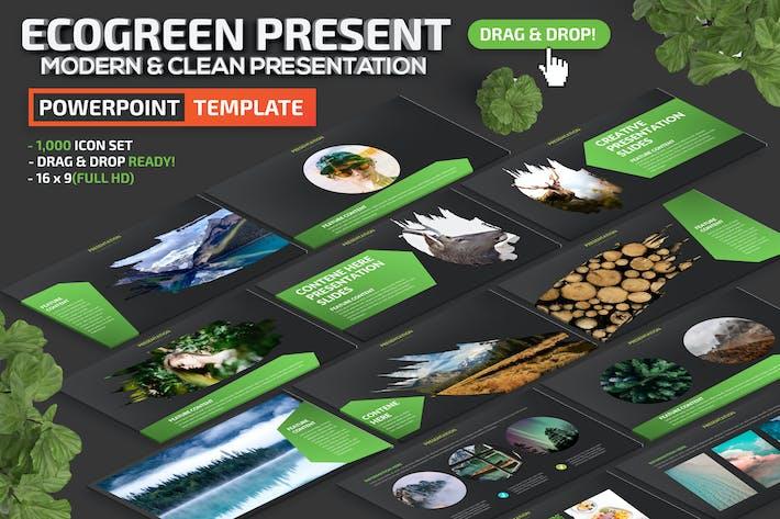 Thumbnail for Презентация Ecogreen Powerpoint