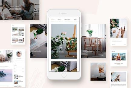 Landyland - Responsive Clean Blog & Magazine Theme