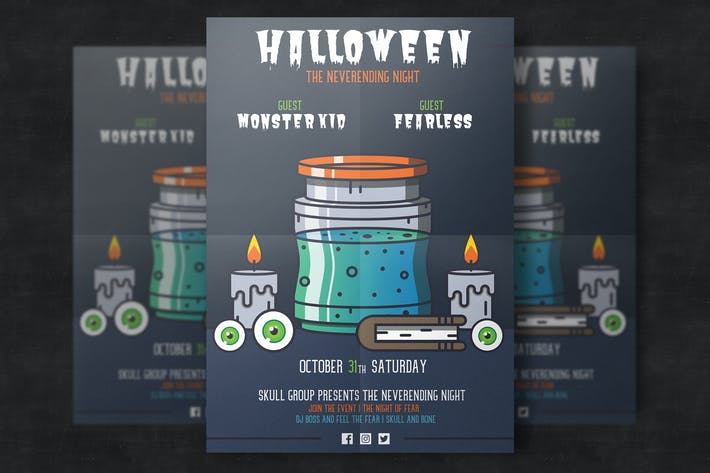 Thumbnail for Halloween Poster Template