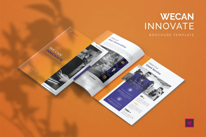 Thumbnail for Innovative - Brochure Template